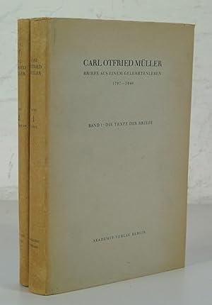 Briefe aus einem Gelehrtenleben 1797 - 1840. 2 Bände (vollständig). 1. Band: Die Texte ...