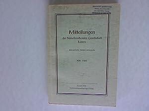 Mitteilungen der Naturforschenden Gesellschaft in Luzern. XIV. Heft.: Mugglin, Franz:
