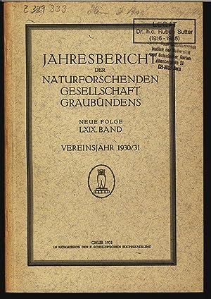 Schriftennachweis aus dem lichtklimatischen Observatorium Arosa, in: JAHRESBERICHT DER ...