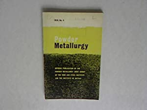 POWDER METALLURGY Volume 4, 1959. The Coercive Force of Fine Iron Powders.: Powder Metallurgy Joint...
