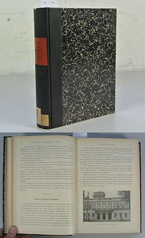 BOLETIM DA SOCIEDADE DE GEOGRAFIA DE LISBOA, Serie 51a (1933) + 52a (1934). 2 Volumes in 1 Book. - ...