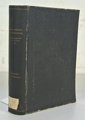 Chemisch-technische Untersuchungsmethoden, Ergänzungswerk zur achten Auflage, 2. Teil: ...
