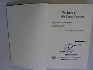 The State of the Social Sciences.: D. White, Leonard: