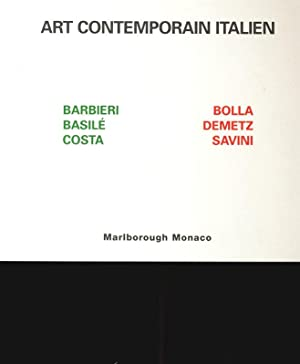 Art contemporain italien : 4 de cembre: Barbieri, Olivo und