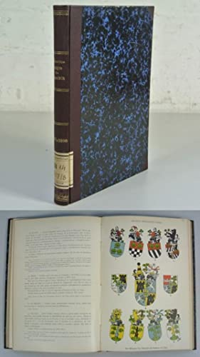 SCHWEIZER ARCHIV FÜR HERALDIK / ARCHIVES HERALDIQUES SUISSES, Jahrgang XI (1897) + XII (...