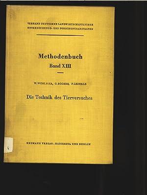 Die Technik des Tierversuches. Mit e. Anh. von Paul Lederle. Handbuch d. landwirtsch. Versuchs- u. ...