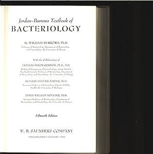Jordan-Burrows Textbook of Bacteriology.: Burrows, William: