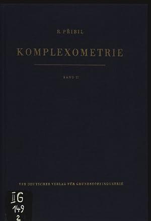 Komplexometrie. Bd. 2. Analyse von Legierungen.: Pribil, Rudolf: