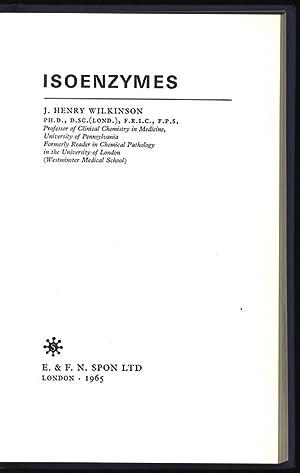 Isoenzymes.: Wilkinson., J. Henry: