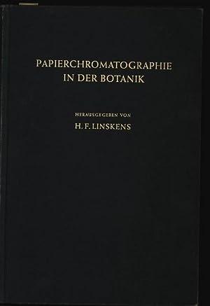 Papierchromatographie in der Botanik.: Linskens, H. F. [Hrsg.] und Helmut [Bearb.] Doerfel: