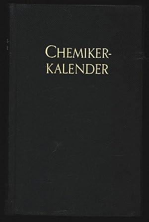 Chemiker-Kalender.: Vogel, H. U. von [Hrsg.]: