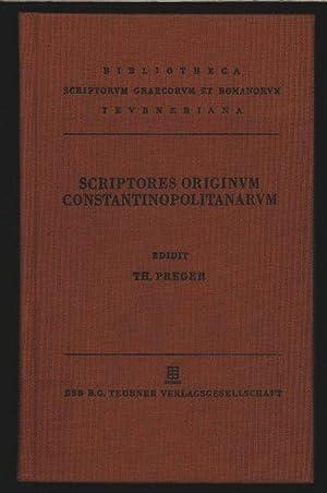 Scriptores originum Constantinopolitanarum. Fasciculus Prior. Bibliotheca scriptorum Graecorum et ...