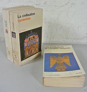 Le monde byzantin. Tome 1-3. Tome 1: Vie et mort de Byzance. Tome 2: Les institutions de l'...