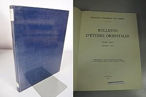 La protection contre la chaleur dans l'architecture musulmane d'Egypte, in: BULLETIN D&#...