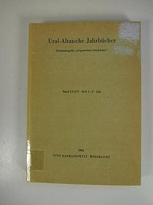 Entwicklungszüge in der Ausbildung der finnischen Schriftsprache, in: URAL-ALTAISCHE JAHRB&...