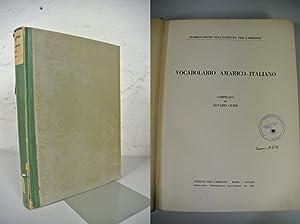Vocabolario Amarico - Italiano. Compilato da Ignazio Guidi.: Guidi, Ignazio: