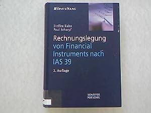 Rechnungslegung von Financial Instruments nach IAS 39.: Kuhn, Steffen und