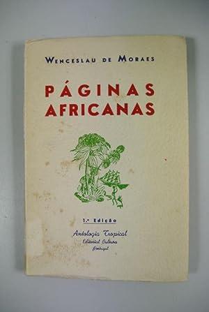 Paginas Africanas.: Moraes, Wenceslau de: