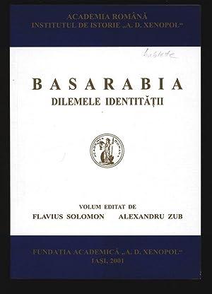 Basarabia. Dilemele identitatii.: Solomon, Flavius [ed.]