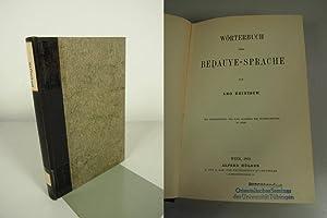 Wörterbuch der Bedauye-Sprache. SELTEN!: Reinisch, Leo:
