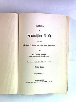 Geschichte der Rheinischen Pfalz nach ihrem politischen, kirchlichen und literarischen Verhä...