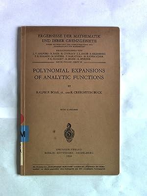 Polynominal Expansions of Analytical Functions. Ergebnisse der Mathematik und ihrer Grenzgebiete: ...