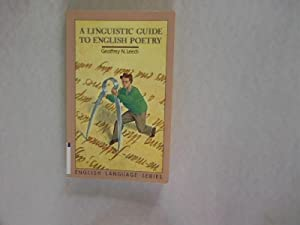 linguistic guide english poetry by geoffrey leech abebooks rh abebooks com linguistic guide to english poetry pdf a linguistic guide to english poetry free download