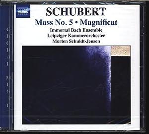 Franz Schubert, Mass No. 5/Magnificat. AUDIO-CD.: Immortal, Bach Ensemble