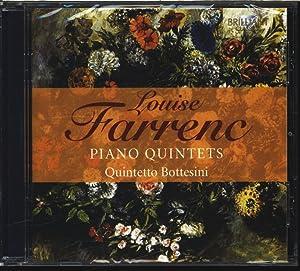 Louise Farrenc, Quintetto Bottesini, Piano Quintets. AUDIO-CD.: Bottesini, Quintetto und