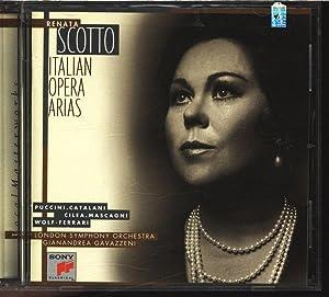Renata Scotto, Italian Opera Arias. AUDIO-CD.: Scotto, Renata: