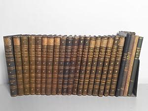 JAHRBUCH DER GRILLPARZER-GESELLSCHAFT. Konvolut von 23 Bänden zwischen 1890 (Jg. 1) und Jg. ...
