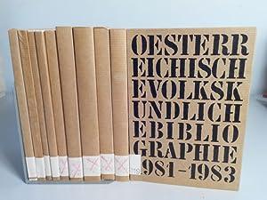 Österreichische volkskundliche Bibliographie. Verzeichnis der Neuerscheinungen für die ...