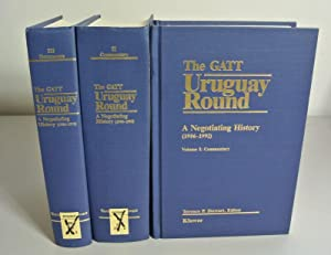 The GATT Uruguay Round. A Negotiating History (1986 - 1992). Volumes I + II: Commentary. Volume III...