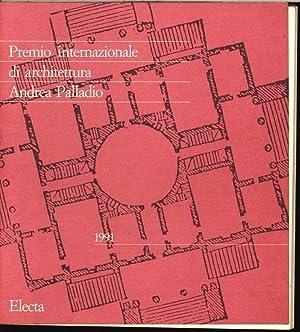 Premio internazionale di architettura Andrea Palladio 1991.