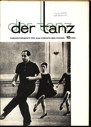 Staatsopernbeitrag zum Roten Oktober, in: DER TANZ, 10/1967. Zeitschrift für alle Gebiete...