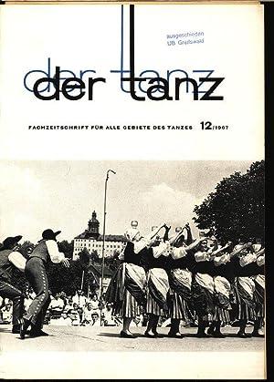 Eine Ballade für Griechenland (I), in: DER TANZ, 12/1967. Zeitschrift für alle ...