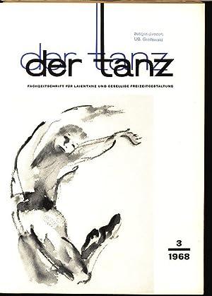 Turniertanz im Blickpunkt, in: DER TANZ, 3/1968. Zeitschrift für alle Gebiete des Tanzes.