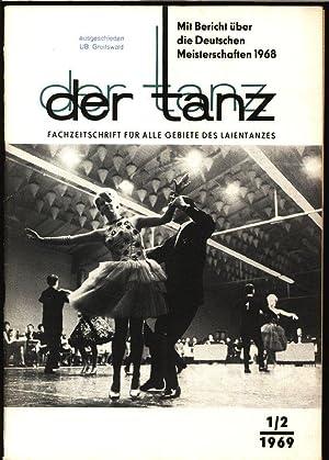 """Hauptweg"""" Qualifizierung, in: DER TANZ, 1-2/1969. Zeitschrift für alle Gebiete des ..."""