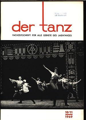 Libretti für neue Tänze, in: DER TANZ, 10-11/1969. Zeitschrift für alle Gebiete...