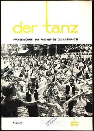 SUDARUSCHKA - ein neuer Tanz aus der Sowjetunion, in: DER TANZ, 7/1970. Zeitschrift für ...