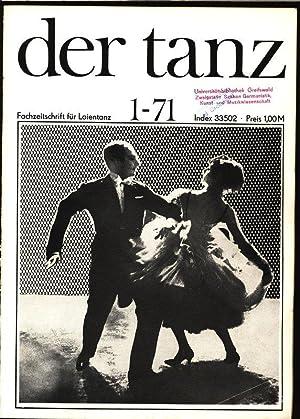 Frühling in Vietnam, in: DER TANZ, 1/1971. Zeitschrift für alle Gebiete des Tanzes.