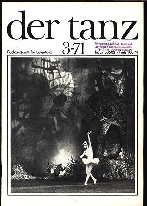 Zu Gast bei der Musikschule Leipzig, in: DER TANZ, 3/1971. Zeitschrift für alle Gebiete ...