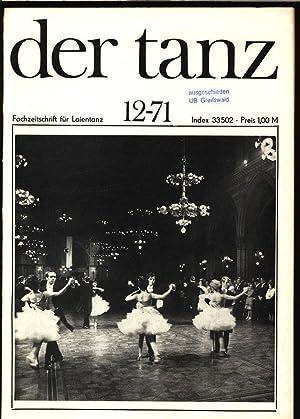 Zu Gast an einigen Musikschulen der Nordbezirke (II), in: DER TANZ, 12/1971. Zeitschrift f&...