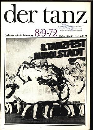 Ein Ereignis - Die Gala-Soiree der Berliner Ballettsolisten in Rudolstadt, in: DER TANZ, 8-9/...