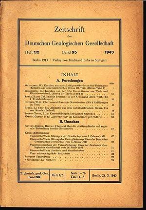 Tektonische Probleme in der Neuen und Alten Welt, in: ZEITSCHRIFT DER DEUTSCHEN GEOLOGISCHEN ...
