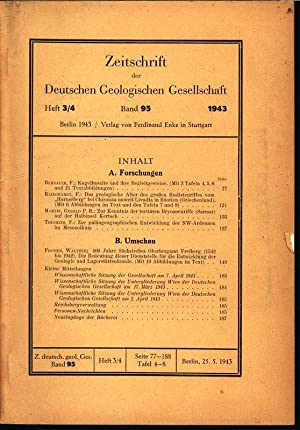 Zur paläogeographischen Entwicklung der NW-Ardennen im Mesozoikum, in: ZEITSCHRIFT DER ...