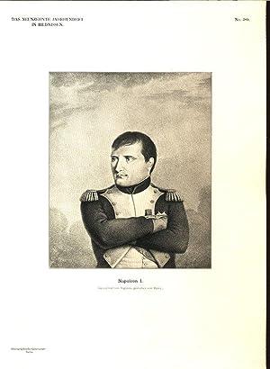 Napoleon I. (Gezeichnet von Vigneux, gestochen von: Werckmeister, Karl [Hrsg.]:
