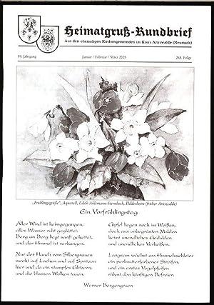 Von der Drage an die Weser, in: Arnswalder Heimatkreis [Hrsg.]: