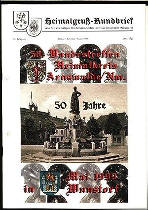 Psalter und Harfe wacht auf, in: HEIMATGRUß-RUNDBRIEF,: Arnswalder Heimatkreis [Hrsg.]: