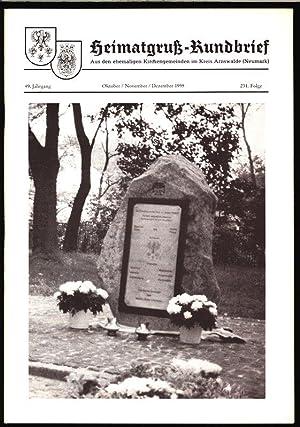 Predigt zur Einweihung des Gedenksteines, in: HEIMATGRUß-RUNDBRIEF,: Arnswalder Heimatkreis [Hrsg.]: